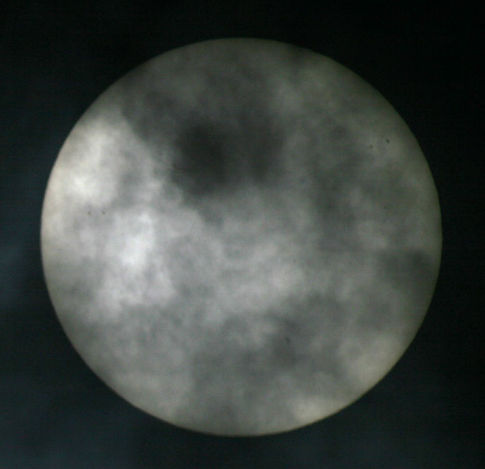 de zon op 9 mei 2011 2